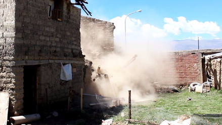 Más de 50 mil personas serían afectadas por terremoto en Huancayo