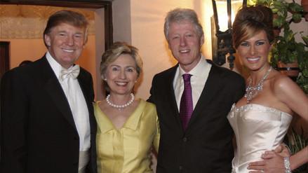 Trump culpó a Bill y Hillary Clinton del poderío nuclear de Corea del Norte