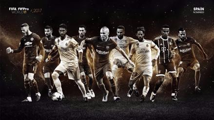 Estos son los 55 nominados para el equipo ideal del 2017 por FIFA FIFPro