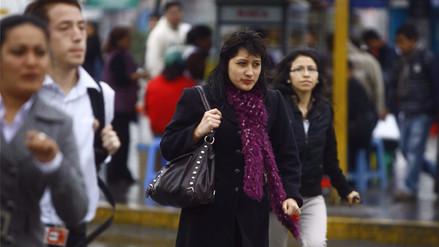 Intensas lloviznas continuarán en Lima hasta este jueves