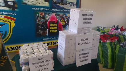 Incautan más de 70 kilos de droga en la frontera peruano - boliviana