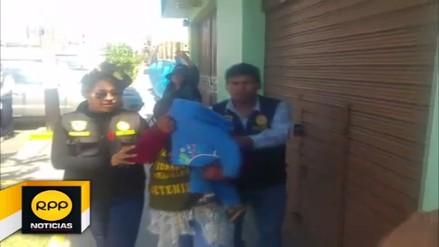Capturan a pareja con 26 kilos de droga en la carretera Panamericana Sur