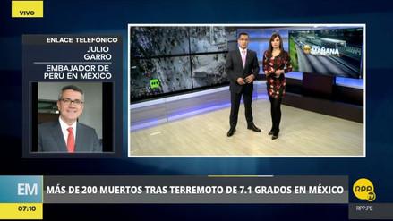 Hasta ahora no hay peruanos entre las víctimas del terremoto en México