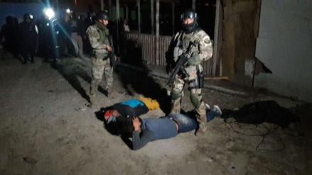 La Policía desbarató la peligrosa banda 'La Gran Sangre del Sur' en un megaoperativo