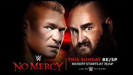 Repasa la cartelera oficial del evento WWE No Mercy 2017