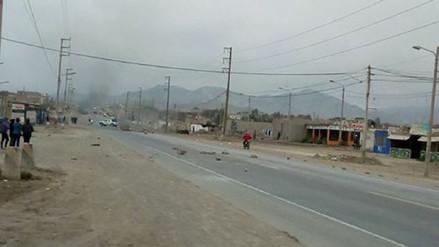 Dos menores heridos y seis intervenidos durante paro de 48 horas en Huarmey