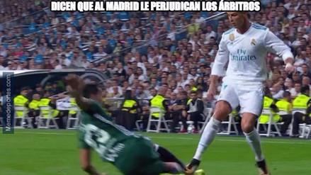 Real Madrid fue víctima de burlas tras perder con Real Betis en el Bernabéu