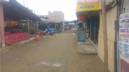Chimbote: mercado La Perla atiende con normalidad a pesar de orden de clausura