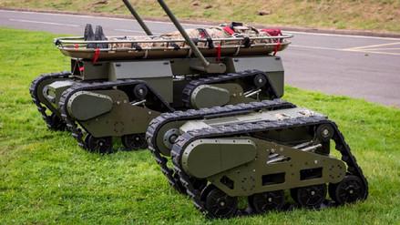 Estos robots de combate británicos pueden unirse entre sí