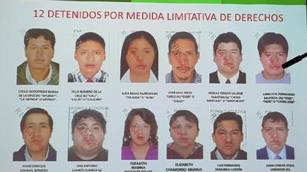 Ministro del Interior presentó resultados de operativo en Huancayo