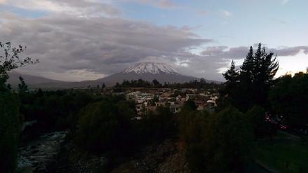 Lluvias se presentarán en zonas altas de Arequipa