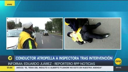 Un taxista atropelló a inspectora para evitar intervención