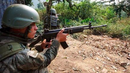 Reportan enfrentamiento entre militares y senderistas en el Vraem