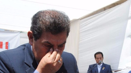 Alcalde de Lambayeque sufre descompensación durante ceremonia