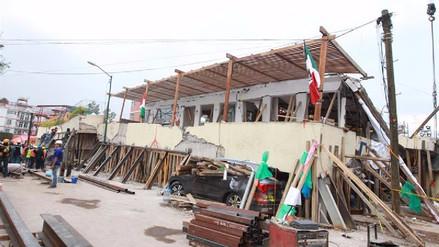 El desgarrador relato de un niño que sobrevivió al derrumbe de escuela en México