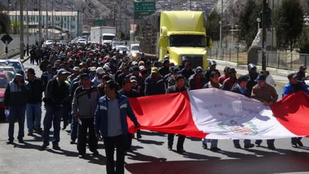 La Oroya: población y trabajadores de Doe Run inician paro indefinido