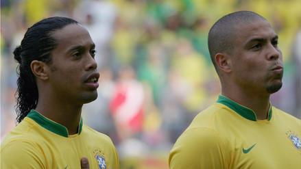 Así fue el saludo de Ronaldinho a Ronaldo por su cumpleaños número 41