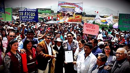 La SBN entregó terreno para construcción del primer hospital de Pachacámac