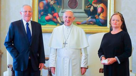 Las imágenes del encuentro entre PPK y el papa Francisco