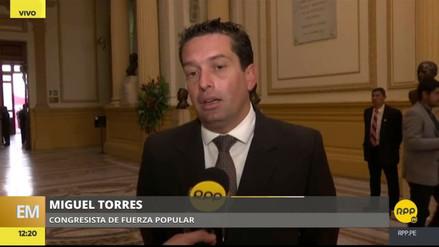 """Miguel Torres: """"PPK tiene la oportunidad histórica de indultar a Fujimori"""""""