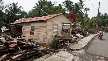 Cientos de casas destruidas tras el paso de María por República Dominicana