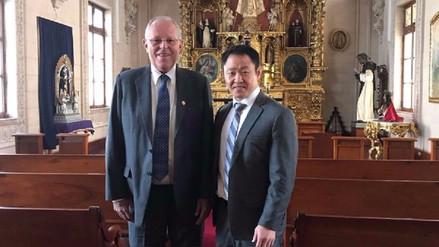 PPK sobre visita de Kenji a Palacio: