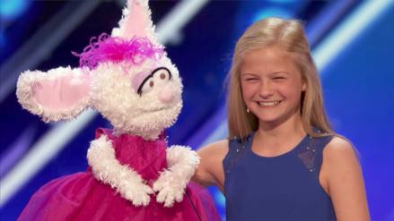 Darci Lynne, la niña ventrílocua, ganó el America's Got Talent