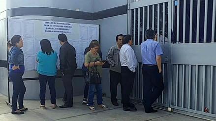 Decenas de profesores no lograron rendir examen en Lambayeque