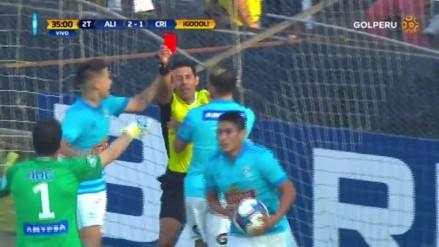 Irven Ávila anotó un golazo pero fue expulsado 7 segundos después