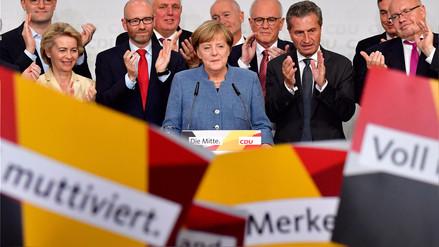 Angela Merkel gana su cuarta elección y ultraderecha es tercera fuerza, según sondeo