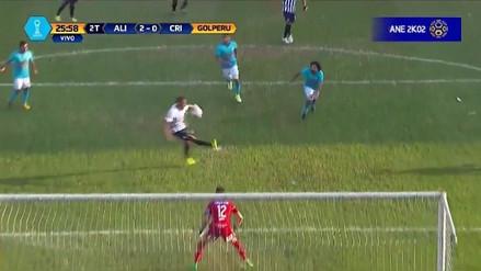 ¡Pared y sombrerito! El golazo de 'Cachito' Ramírez a Sporting Cristal