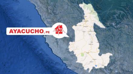 Sismo de 4.1 grados de magnitud se registró en Ayacucho
