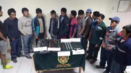 Caen presuntos traficantes de terrenos con armas y municiones