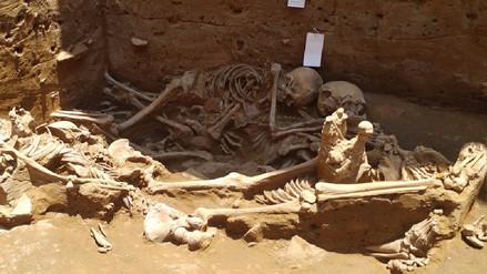 Descubren sacrificios humanos con más de mil años de antigüedad