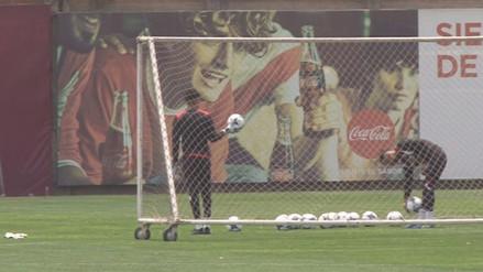 Pedro Gallese y Carlos Cáceda demostraron precisión en el saque de meta