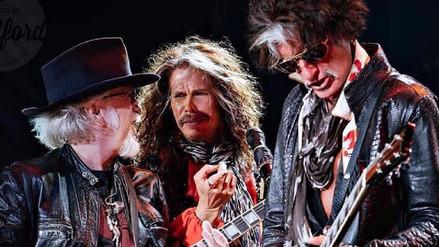 Aerosmith cancela conciertos por enfermedad de Steven Tyler