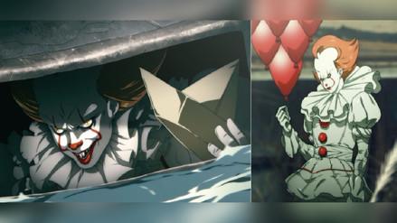 Twitter | Artista crea 'It' en versión anime