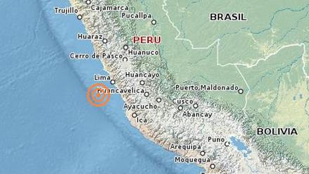 Un sismo de 4 grados de magnitud se registró en Huancavelica