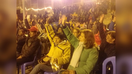 La Oroya: en asamblea popular deciden realizar diálogo con el gobierno