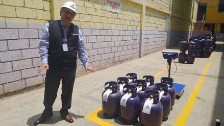 Lambayeque: Osinergmin supervisa etiquetado en balones de GLP
