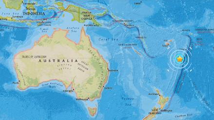 Un sismo de 6,4 grados golpea el sureste de Fiyi