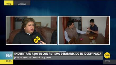 Encuentran a joven con autismo desaparecido en el Jockey Plaza