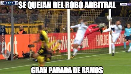 Real Madrid es víctima de memes tras vencer al Borussia Dortmund