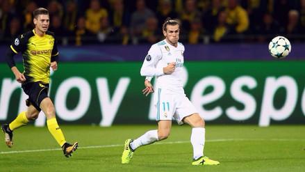 Así fue el golazo de Gareth Bale al Borussia Dortmund por la Champions