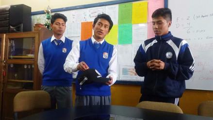 Escolares inventan sistema de alerta para evitar accidentes de tránsito