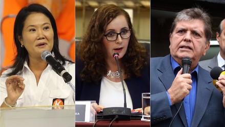 """Bartra: """"Aún no hay elementos para citar a Alan García y Keiko Fujimori a la comisión Lava Jato"""""""