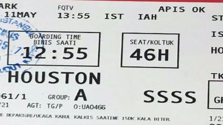"""¿Qué pasa si el código """"SSSS"""" sale en tu tarjeta de embarque?"""