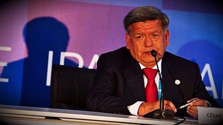 El Poder Judicial absolvió a César Acuña por el caso