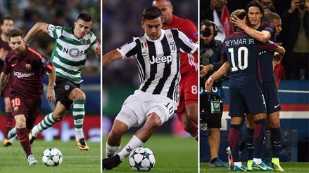 Resultados de la fecha 2 de la fase de grupos de la Champions League