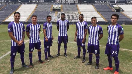 Conoce al detalle la camiseta blanquimorada de Alianza Lima